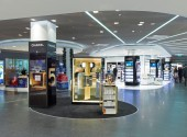 Zurich Airport. Terminal 1 Duty Free. Designer: The Design Solution